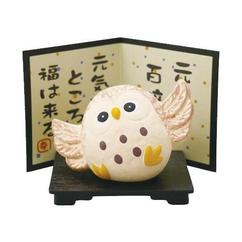 元気ふくろう(小) 0652-1135 ふくろうの可愛い置...