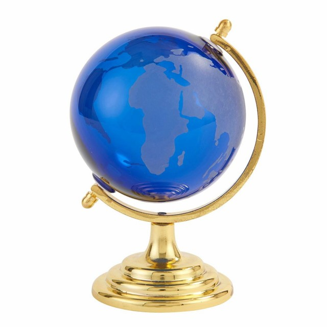 茶谷産業 Fun Science ガラス地球儀 ブルー 333-4...