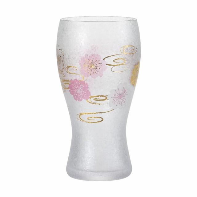 桜水紋 ビアグラス 6051
