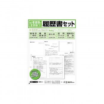 労務 11-52/ 履歴書セット JIS規格帳票(職務経歴...