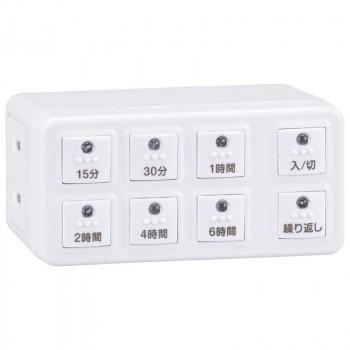 OHM ボタン式デジタルタイマーAB6H HS-AB6H