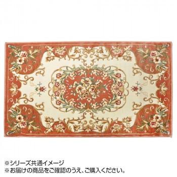 玄関マット 花柄 メダリオン OR 90×180 24061144...