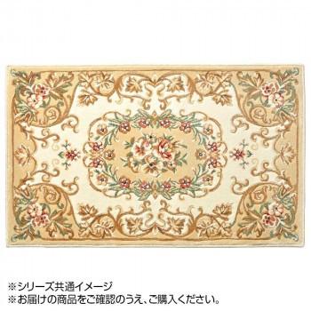 玄関マット 花柄 メダリオン BE 90×180 24061144...