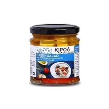 キポス フェタチーズオイル漬け オリーブ、レッ...