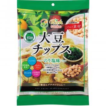 サンコー 大豆チップス のり塩味 15袋