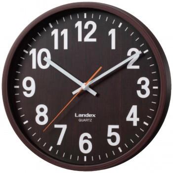 【同梱・代引き不可】インテリア掛時計 YW9136DBR...
