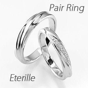 ペアリング プラチナ 900 ダイヤモンド 指輪 結婚...