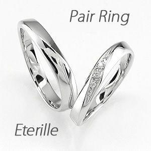 ペアリング ゴールド 18k ダイヤモンド 指輪 結婚...