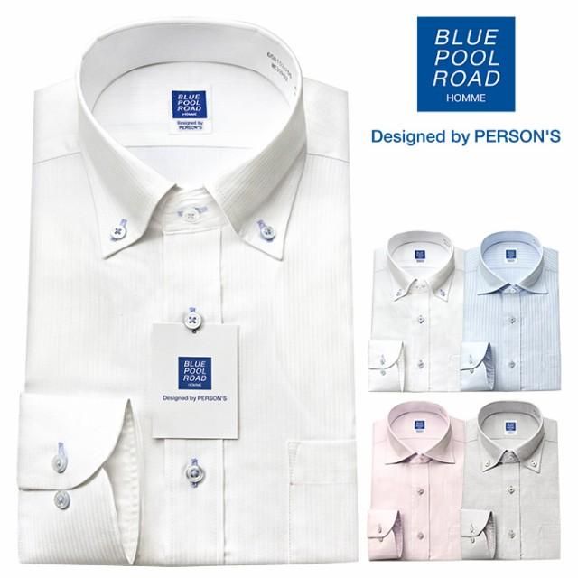 ワイシャツ メンズ 長袖 形態安定 ドレスシャツ Y...