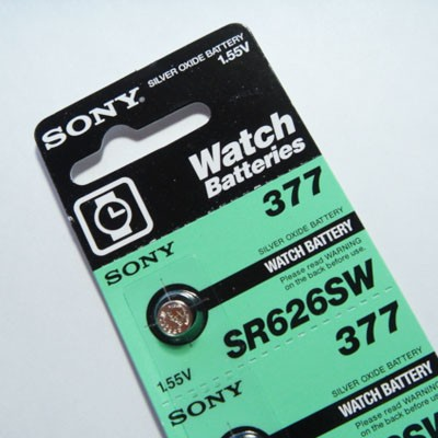 ソニー SONY ボタン電池 [AO-SR626SW-377/1個] 【...