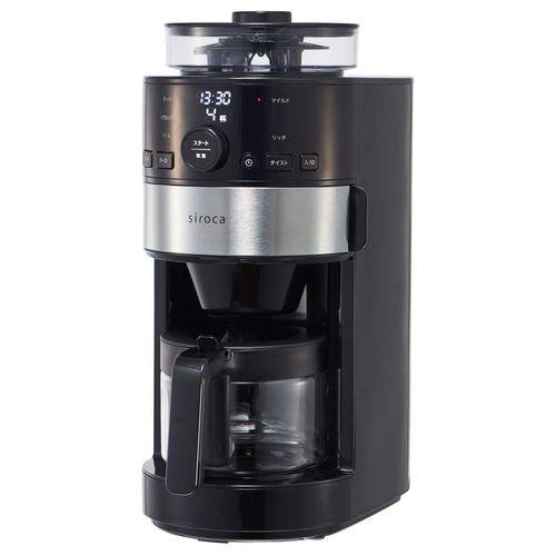 siroca コーン式全自動コーヒーメーカー SC-C111 ...