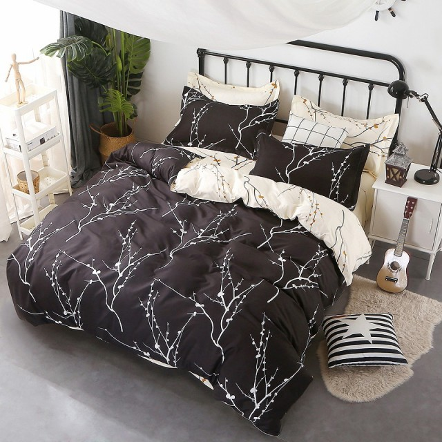 寝具カバー 4点セット 柔らか優しい肌触り 掛布団...