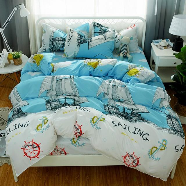 ★激安★寝具カバー 4点セット 柔らか優しい肌触...