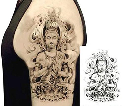 仏像 ブッダ 仏様 ほとけ 仏 タトゥーシール 入れ...