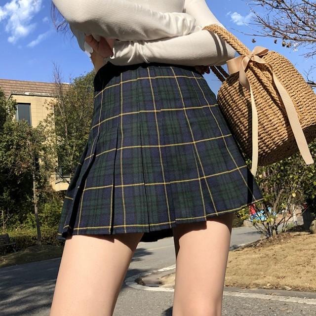 チェックスカート ミニ チェック スカート  柄 シ...