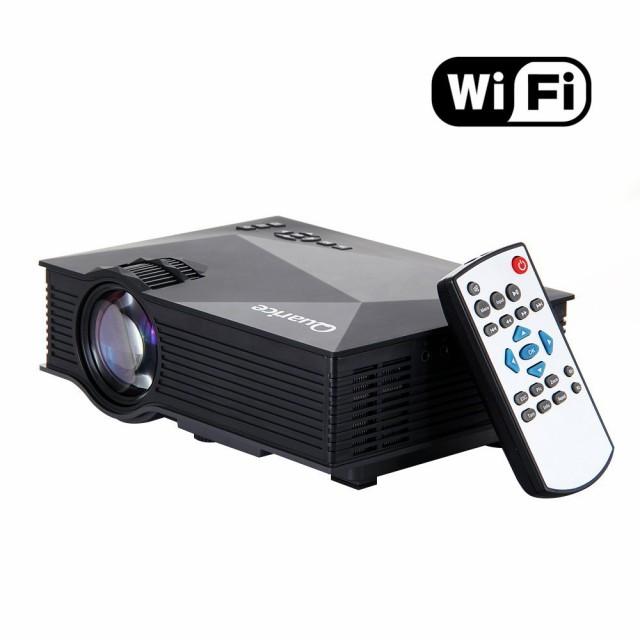 【送料無料】LEDプロジェクター WiFi接続機能搭載...
