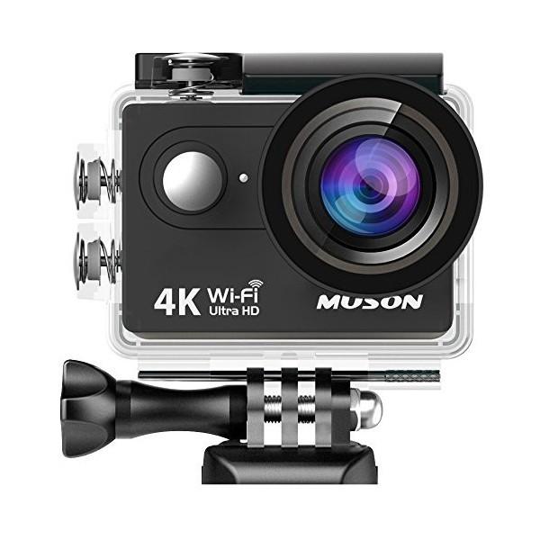 【送料無料】進化版MUSON アクションカメラ 4K高...