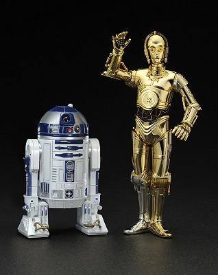 フィギュア 【スター・ウォーズ】 R2-D2 & C-3PO...