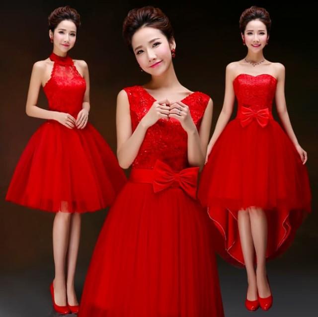 花嫁ウェディングドレス ホルターネックドレス チ...