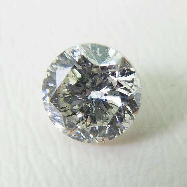 【新品】ダイヤモンド ルース 0.401ct ラウンド ...