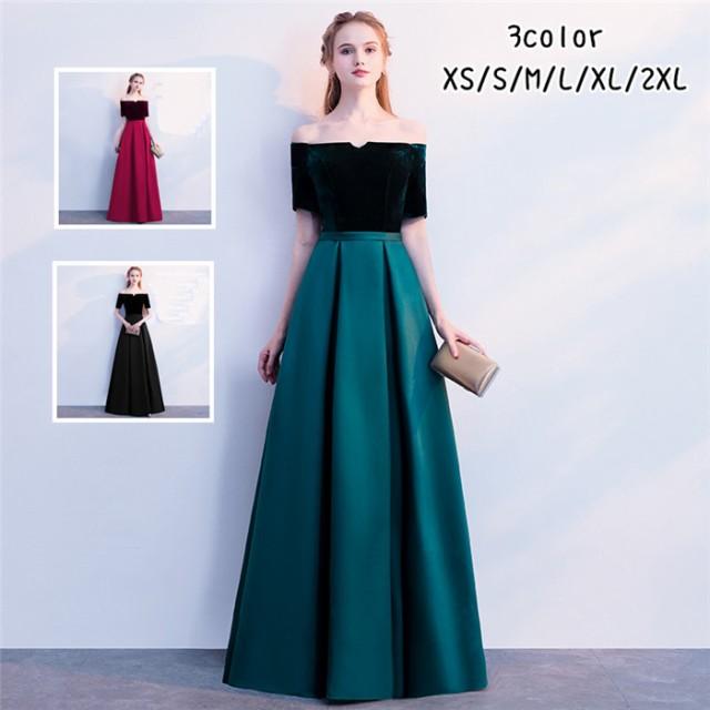 イブニングドレス フォーマルウエア ロングドレス...