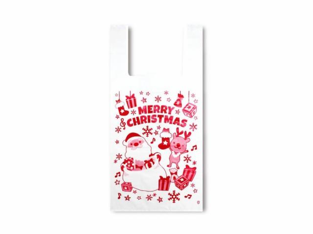 【クリスマス用 ビニールバッグ】〈4493〉レジバ...