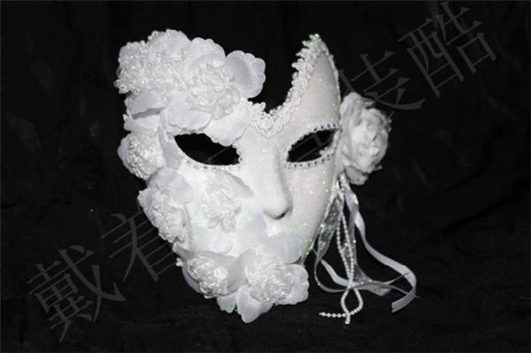 ハロウィン Halloween コスプレ 半顔マスク おし...