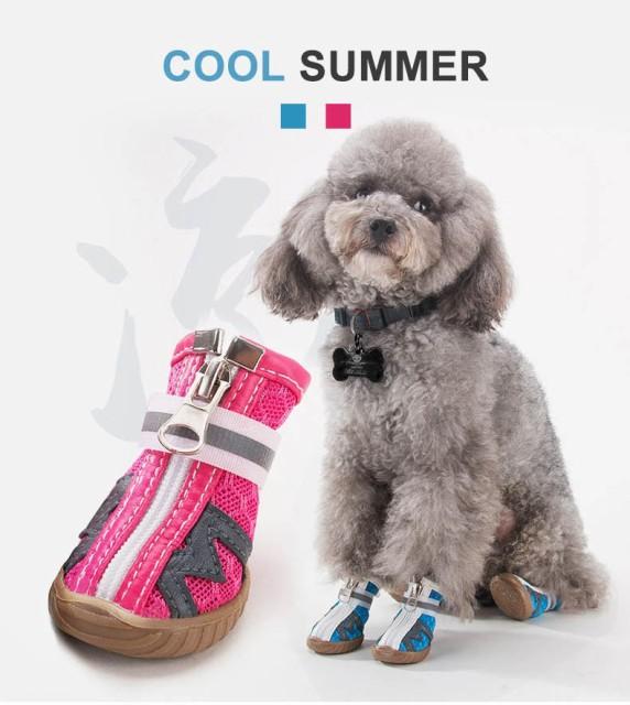 犬靴 ペット靴 シューズ 犬の靴 小型犬 中型犬(1...
