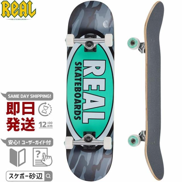 リアル REAL スケートボード コンプリート OVAL C...