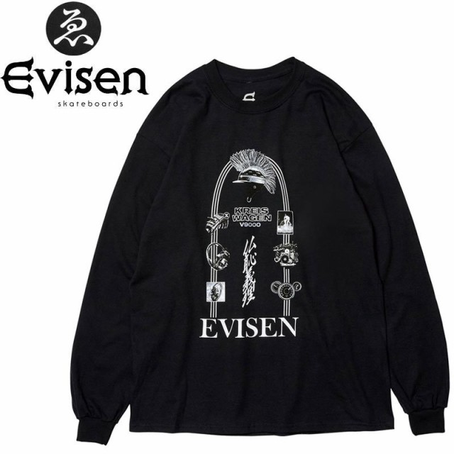 EVISEN エビセン スケボー ロング Tシャツ KREISW...