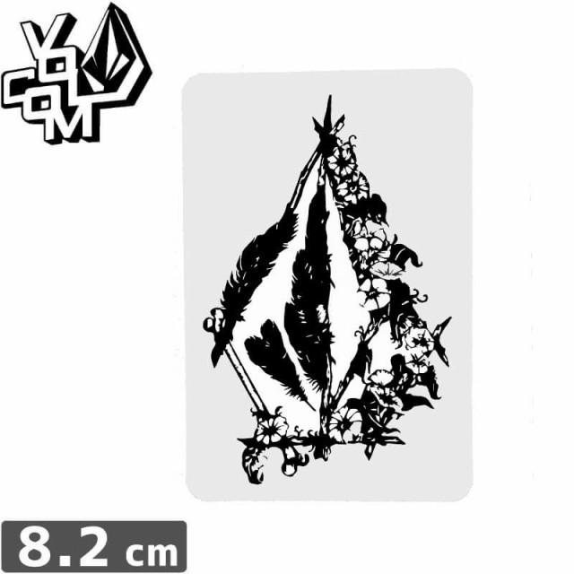 【ボルコム VOLCOM ステッカー】STICKER【8.2cm x...