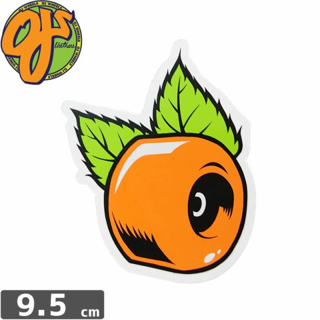 【オージェイ OJ3 スケボー ステッカー】ORANGE 3...