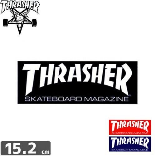 【スラッシャー THRASHER スケボー ステッカー】S...