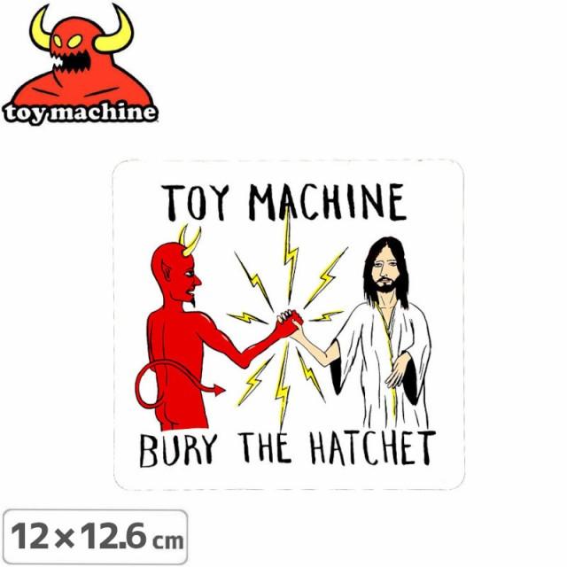 トイマシーン TOY MACHINE スケボー ステッカー B...