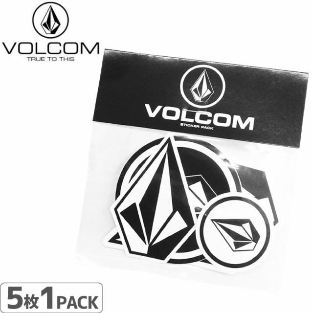 ボルコム VOLCOM ステッカー STICKER 5PACK 5枚入...