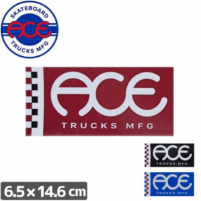 ACE TRUCKS エース スケボー ステッカー FLAG LOG...