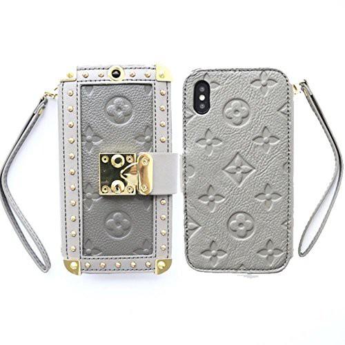 Mrong iphone X ケース 手帳型 カード収納 財布型...
