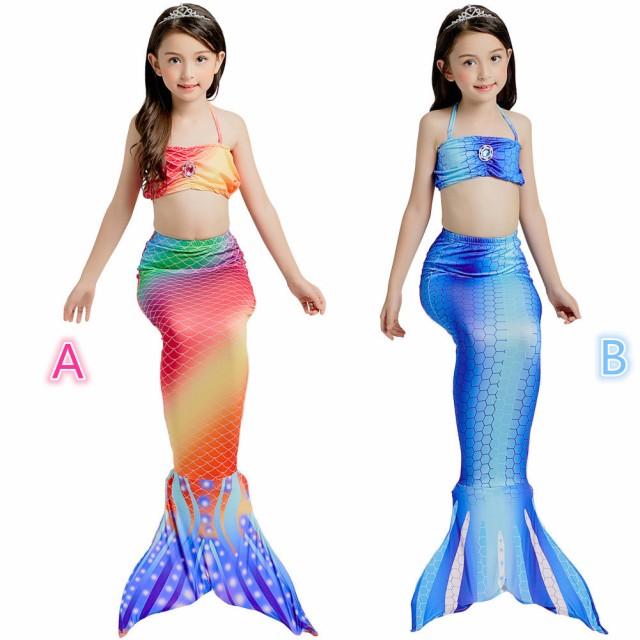 598f3e149ee06 AD168 コスプレ衣装 子供 人魚姫ワンピース キッズ コスチューム 水着 子供用ドレス 衣装 コス なりきり