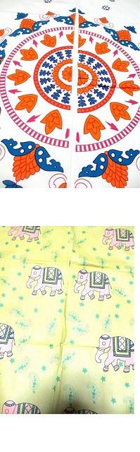 ネパール製カギ編みヘンプコットンエスニック帽子...