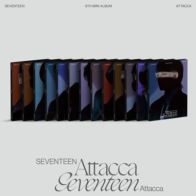 SEVENTEEN 9th Mini Album 「Attacca」 (CARAT VE...