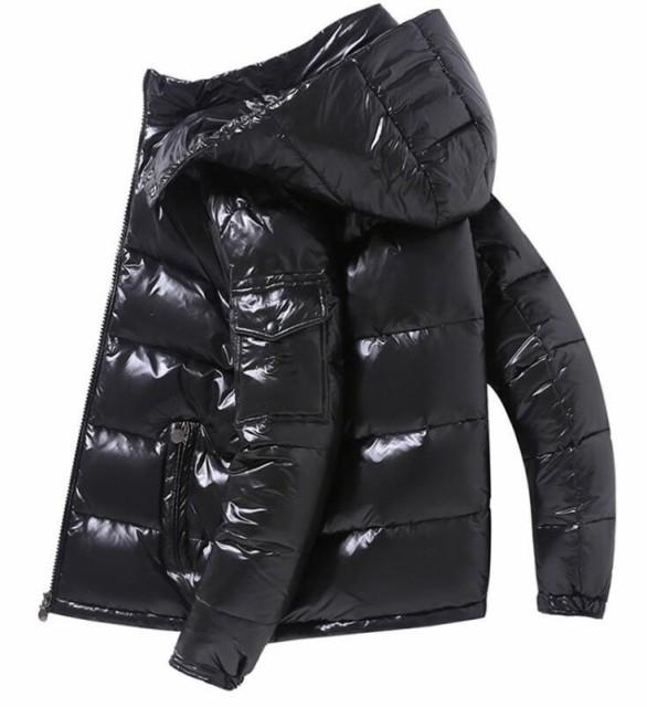 ダウンジャケット メンズ ゆったり 3色 冬 暖かい...