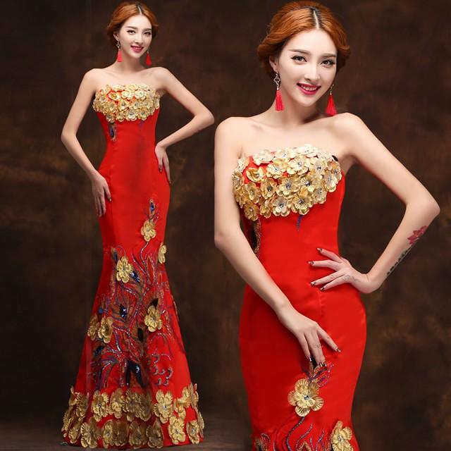 パーティードレス イブニングドレス ロングドレス...