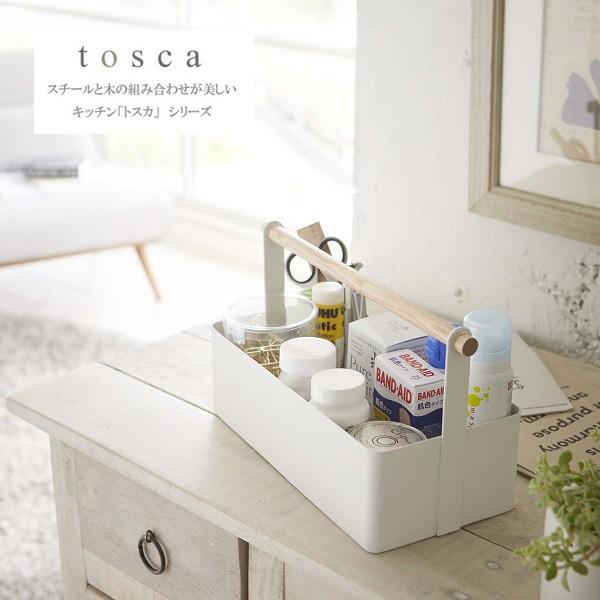 ツールボックス トスカ L ホワイト 2312