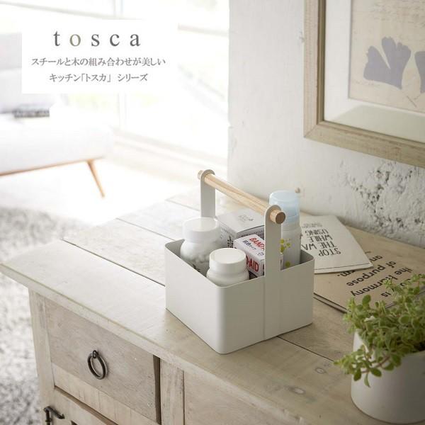 ツールボックス トスカ S ホワイト 2313