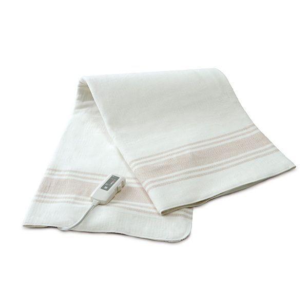 ゼンケン 電気掛け敷き オーガニックコットン毛布...