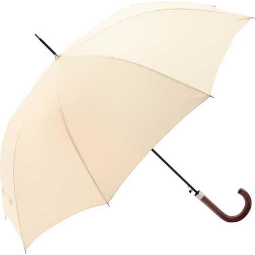 超撥水長傘 高密度生地で雨をはじく水切れのよい...