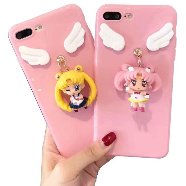 iPhone6 7 8 美少女戦士セーラームーン マスコッ...