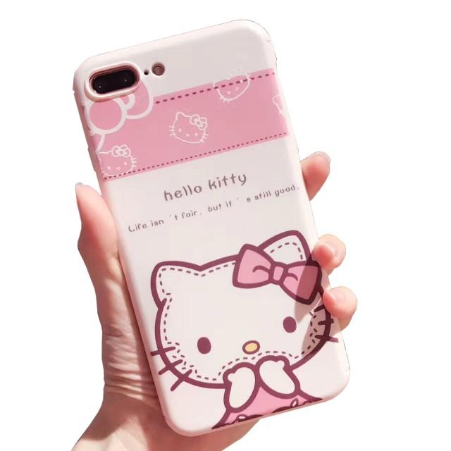 iPhone7 6 plus 高級 耐衝撃 ハローキティ キティ...