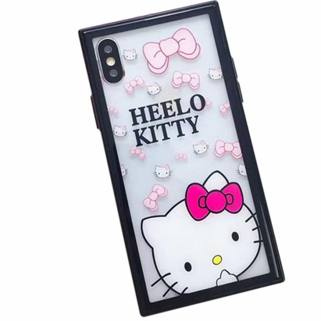 iPhoneX 8 7 6 plus 高級 耐衝撃 ハローキティ キ...