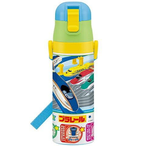 【水筒/プラレール】超軽量コンパクトロック付ワ...